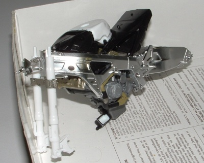 Dom's Honda chassis and engine