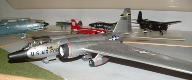 Mark's RB-57 left front view