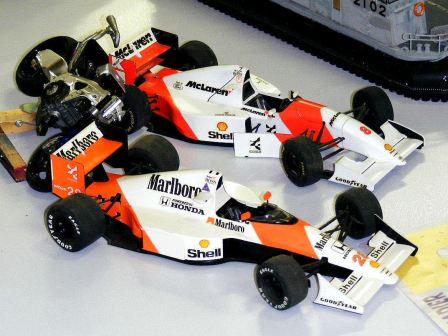Sean's Formula 1 cars