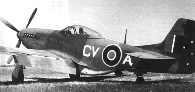 A Three Squadron Mustang IV in Italy (1945)